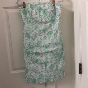 Original Lilly Pulitzer blue & green floral dress